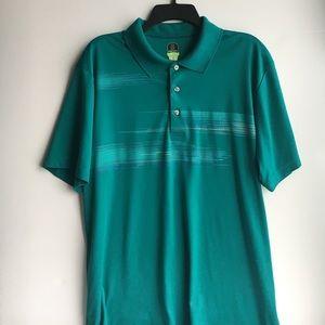 Pro series golf short sleeve polo